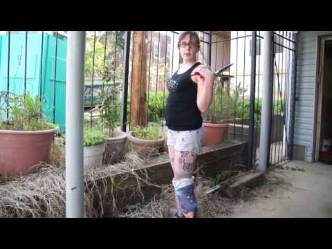 AmputeeOT: Gardening with a prosthetic leg