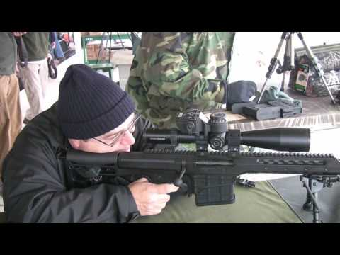 how to hold a rifle steady standing
