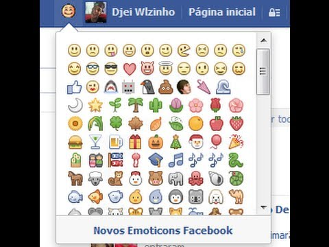 Como usar novos emoticons do facebook #2 2014