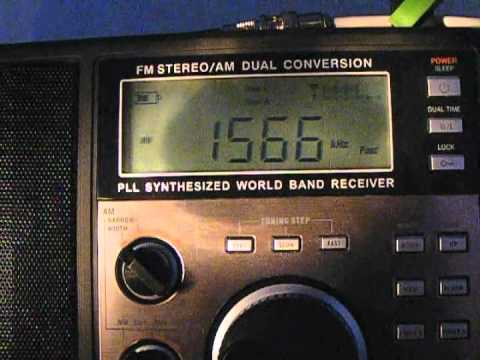 MW DX: All India Radio 1566 kHz (Redsun RP-2100)