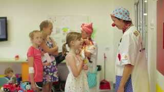 Mondelēz International working with The Humour Foundation Clown Doctors (Australia)