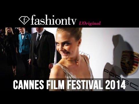 De Grisogono Red Carpet ft Cara Delevingne, Amber Heard at Eden Roc, Cannes 2014 | FashionTV