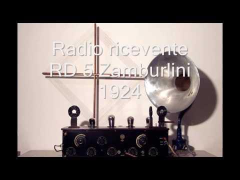 Radio italiana URI 1924 by IZØTTG