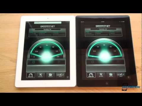 iPad 4 vs. iPad 3 Speed Test