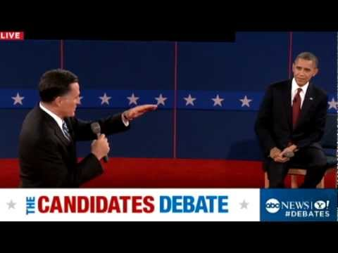 Second Presidential Debate 2012: Mitt Romney on Tax-Plan Numbers: 'They Add Up'