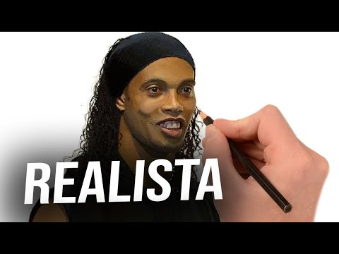 RONALDINHO SPEED PAINTING in MS PAINT by HBT ALLEN - HD 1080p - DRAWING