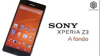 Sony Xperia® Z3 | Análisis a fondo