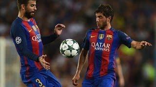 Sergi Roberto - FC Barcelona v Celtic (13/9/2016) (Individual Performance)