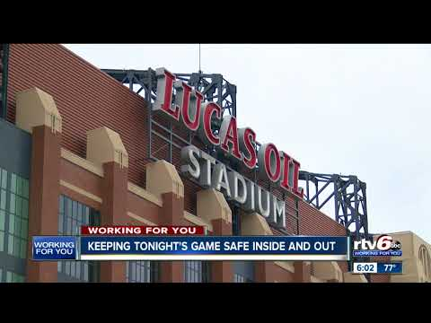 IMPD & Lucas Oil Stadium team up to keep fans safe inside and outside the stadium