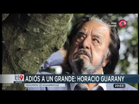 El adiós a un grande: Falleció Horacio Guarany