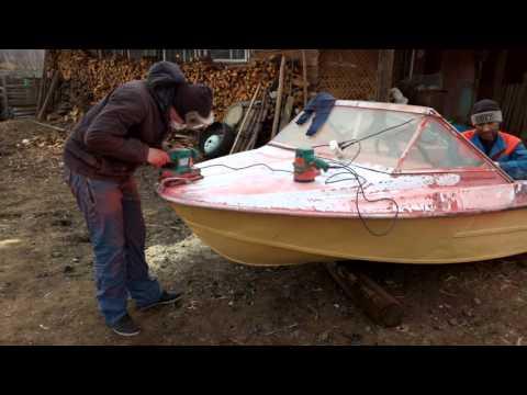 чем грунтовать и красить лодку