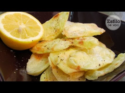 Patatas fritas al microondas | Receta fácil