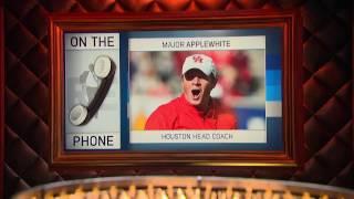 Houston Cougars Football Head Coach Major Applewhite on Nick Saban - 12/13/16