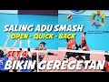 SALING ADU SMASH...!!! Indonesia Vs Thailand | Asian Games 2018
