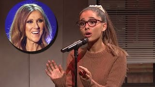 Celine Dion Did WHAT When She Watched Ariana Grande's Impression Of Her?!