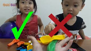 Learn Color With Balloons and Baby Color Song THE BEST Nursery Rhymes Songs