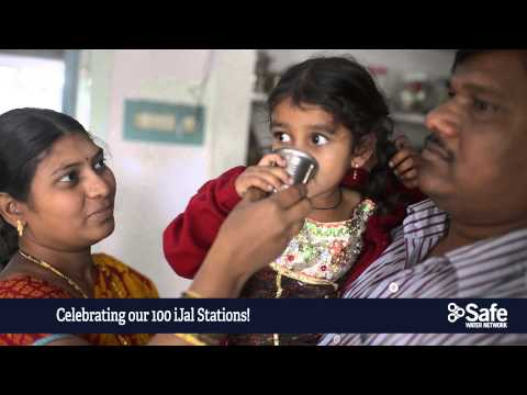 Celebrating Safe Water Network's 100 iJal Station in India