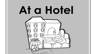 At a Hotel | Easy English Conversation Practice | ESL