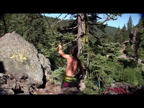 Triple Backflip - 60 foot Rope Swing! klip izle