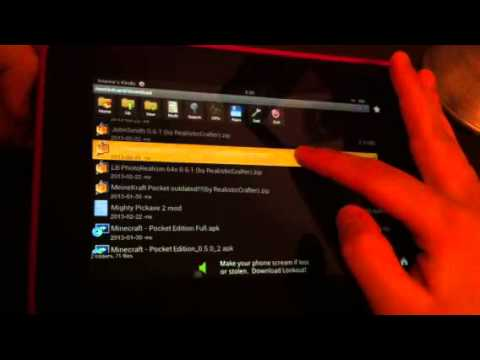 How to Get Apply Texture Packs for MCPE KINDLE FIRE HD