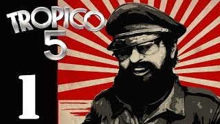Let's Play Tropico 5 - Episode 1 - Gameplay Impressions / First Look