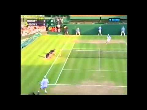 2006 Wimbledon R3 Andy Murray vs Andy Roddick Highlights