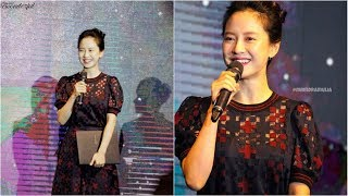 Song Ji Hyo Funny and Cute trying to Speak Indonesian at KBEE 2017
