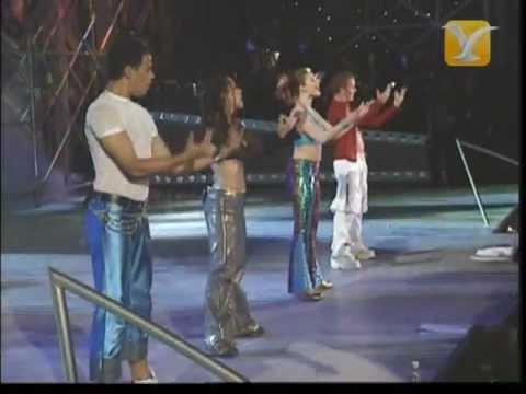Vengaboys, Shalala La La, Festival De Viña 2001 video