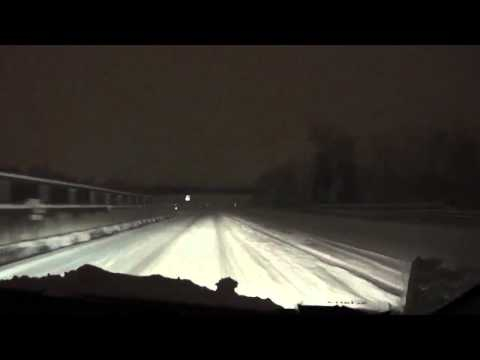 A14 Ancona neve 10/02/2012