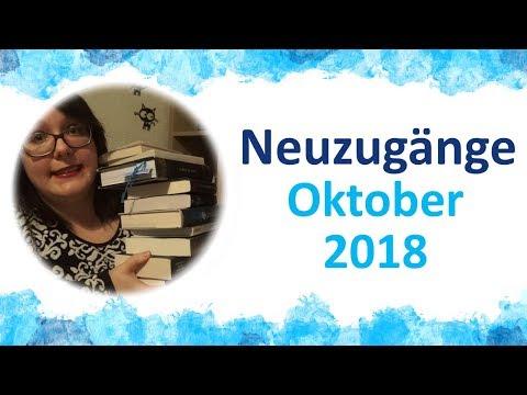 Neuzugänge ★ Oktober 2018 | Buchmesse und Bücher-Eskalation! XXL Haul