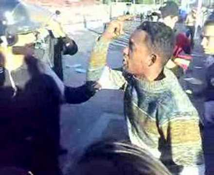 violencia de policia metropolitana
