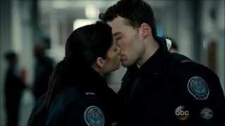 Rookie Blue - 4x12 - Sam watches Nick and Andy