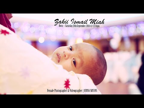 Zakii's Birthday Party Cinematic Highlights 2015 (Female Photographer & Videographer)