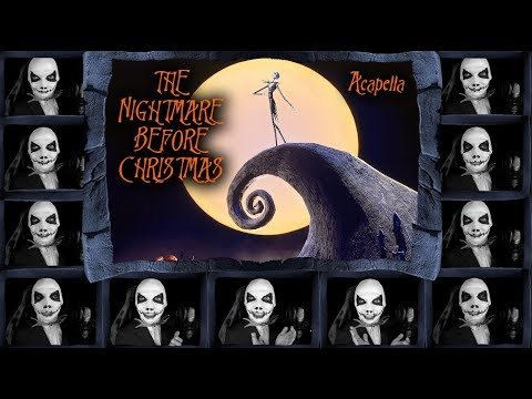 The Nightmare Before Christmas - This is Halloween - Acapella Cover (Lyric Video)