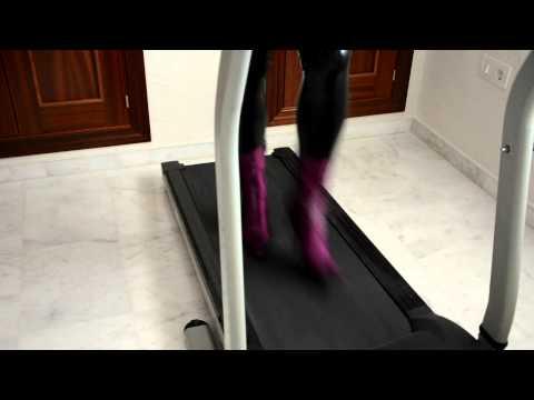 Treadmill high heels