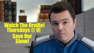 Save The Orville! Ratings drop! SOS!
