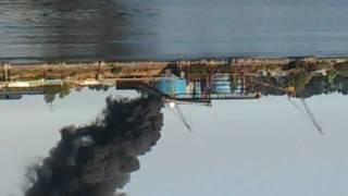 Schnitzer steel fire