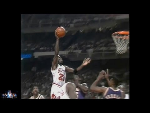 Michael Jordan Offense Highlights 1991,1992 Finals