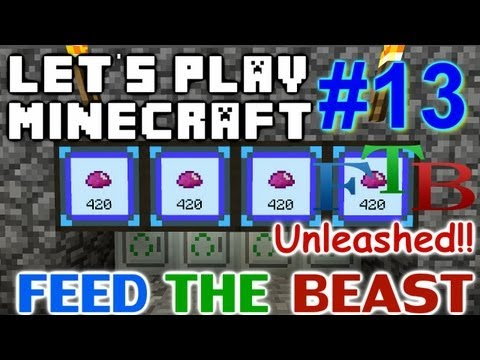 Let's Play Minecraft FTB Hermit Unleashed Ep. 13 - Mass Fab & UU Matter Production!!!