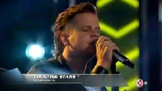 Kike Jimenez - Counting Stars - La Voz M�xico 2014 - Knockouts 16 De Noviembre