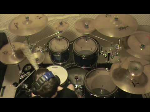 Asking Alexandria - Alerion & The Final Episode(let's Change The Channel) - Drum Cover video