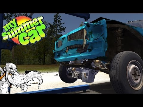 "My Summer Car Gameplay  - ""YOU STUPID @$#% ENGINE!!!""  - Let's Play Walkthrough"