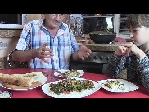Мясо по-тайски в глубокой сковороде