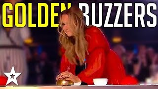 Judges GOLDEN BUZZERS | Amanda Holden's Top Moments On Britain's Got Talent! | Got Talent Global