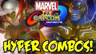 Marvel vs. Capcom: Infinite All Hyper Combos [FROM DEMO AND TRAILERS SO FAR]