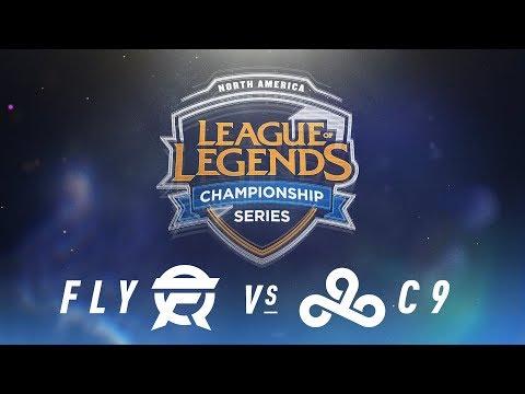 FLY vs. C9 - Week 4 Day 2 | NA LCS Spring Split | FlyQuest vs. Cloud9 (2018)