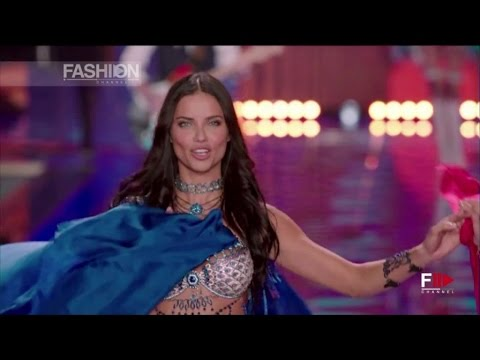 VICTORIA'S SECRET 2014 in London -   ANGEL ADRIANA LIMA VICTORIA'S SECRET 2014 Backstage Interview
