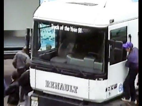 Renault AE 500 Magnum - video 1991 - YouTube
