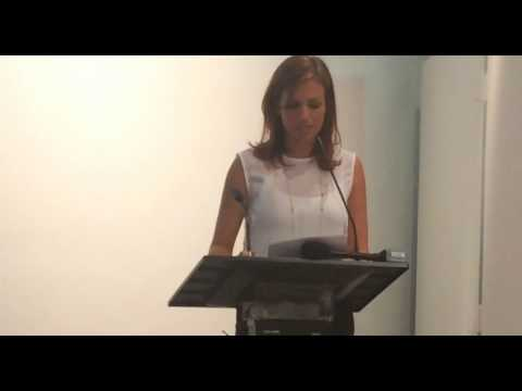 Haiti's Minister of Tourism Stephanie Villedrouin in Miami RoadShow2015