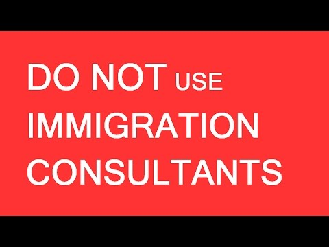 Immigration Canada. Do NOT use immigration consultants